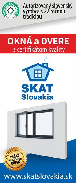 SKAT SLlovakia - plastové okná a dvere s certifikátom kvality