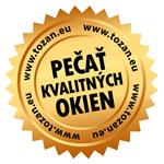 PEČAŤ KVALITNÝCH OKIEN je istotou pre zákazníka, že s takto označeným výrobkom získal najlepšiu kvalitu na trhu od overeného slovenského výrobcu. Certifikát Pečať kvalitných okien vydáva firma TOZAN EU, a. s. jednotlivým členom združenia Revolučné okná po splnení podmienok certifikácie.  Po udelení certifikátu naďalej pravidelne a odborne kontroluje dodržiavanie všetkých kritérií.