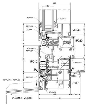 Okenno - dverný systém Imperial