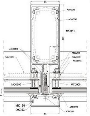 Fasádny systém MC WALL